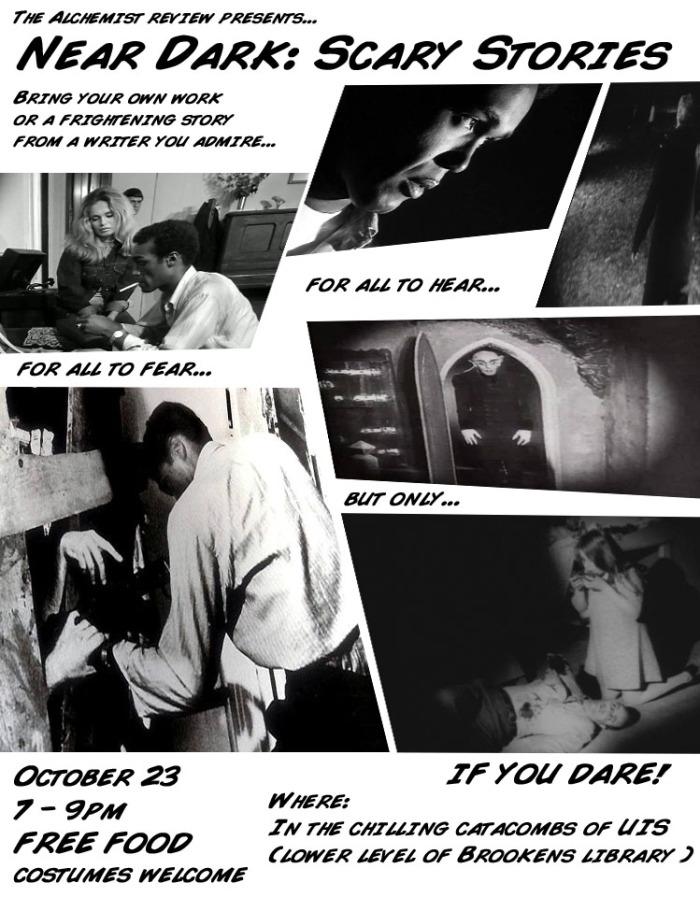 halloween flyer near dark comic final
